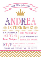 Featuring Our Little Princess Birthday Invitations