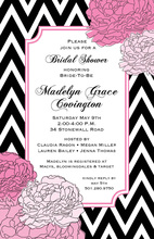 Chevron Ties Invitations