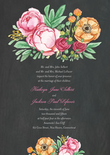 Elegant Bouquet Wedding Suite Invitations