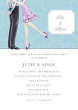 Surprise Box Engagement Invitations