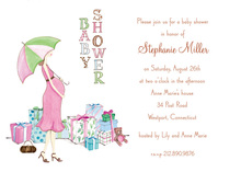 Expected Mom-to-be Baby Shower Invitations