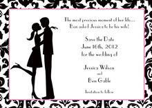 Couple in Love Shower Invitations