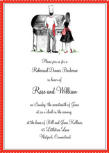 Cook Out Couple Invitation Party Shower Invitations