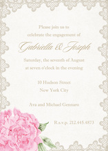 Antique Lace Invitations