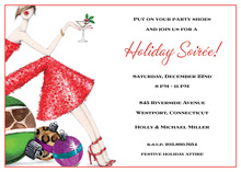 Holiday Girl Invitations