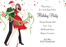 Holiday Couple Invitations