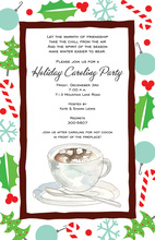 Cocoa Holiday Invitations