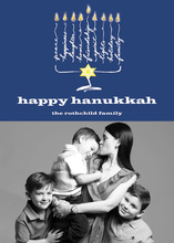 Happy Hanukkah Photo Cards