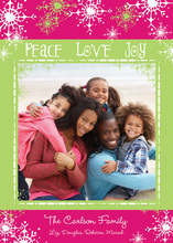 Peace, Love, Color Photo Cards