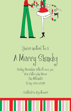 A Holiday Pair Invitations