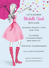 Stylish Wedding Shower Invitations