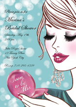 Make-up Soon-to-be Mrs. Bridal Shower Invitations