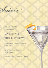 Fabulous Soiree with a Twist Invitation