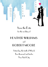 Urban Destination Couple Invitation