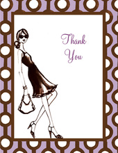 30th Birthday Soiree Thank You Cards