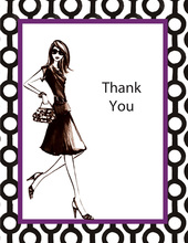 40 and Fabulous Thank You Cards