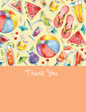 The Best of Summer Thank You Cards