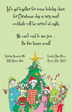 Rockin' Tree Invitation
