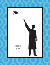 Grad Guy Thank You Cards