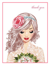 Lovely Lace Thank You Cards