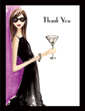 Night Out Thank You Cards
