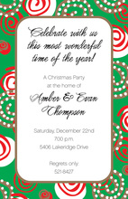 Swirls Invitation