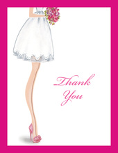 Sassy Bride Thank You Cards