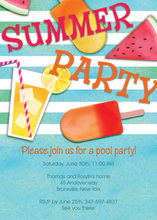 Summer Fruit Essentials Invitation