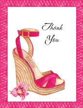 Summer Soiree Thank You Cards