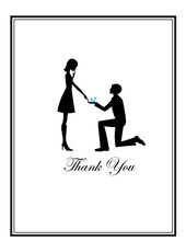 Say Yes Thank You Cards