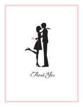 The Kiss Thank You Cards