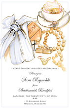 Bridesmaids Luncheon Bridal Jewelry Shower Invitations