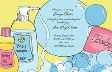 Baby Bath Invitation