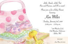 Baby Items Invitation
