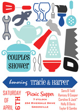 Couples Shower Invitation