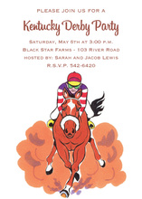 Kentucky Derby Lead Horse Invitations