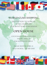 Countries Around The World Invitations