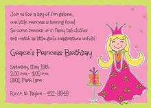 Pretty Pink Princess Invitations