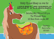 Pony Up Kids Invitations