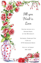 Lovely Heart's Desire Invitations