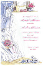 Wedding Dress Bridal Show Invitations