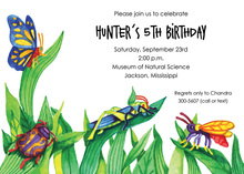 Bugs to Butterflies Invitations