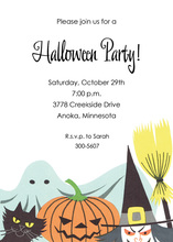 Classic Halloween Invitations