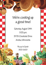 Master Cook Invitations
