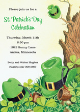 St. Pat's Hat Invitations