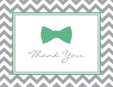 Green Bow Tie Note Cards