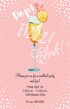 Pink Mimosa Party Invitations