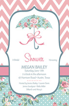 Shower Me In Roses Invitation