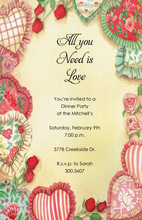 Soft Hearts Invitation
