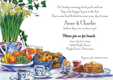 Breakfast Brunch Invitations